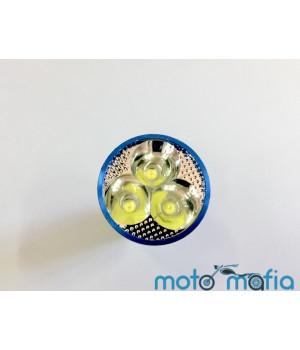 Лампа фары LED (три диода)