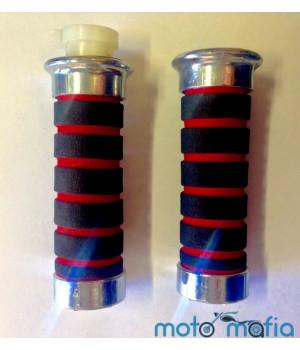 Ручки руля мягкие (красные)