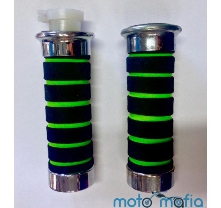 Ручки руля мягкие (зеленые)