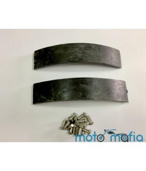 Накладки тормозных колодок Муравей с заклепками (пара)
