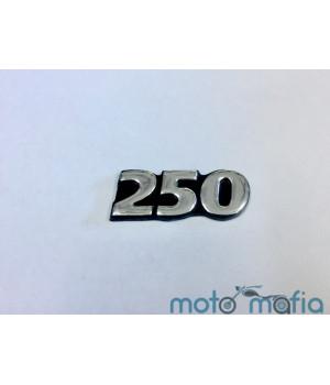 """Накладка декоративная самоклеющеяся с изображением """"250""""."""
