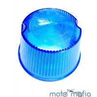 Стекло указателя поворотов Иж синего цвета.