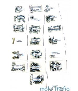 Болты под шестигранник на весь мотоцикл Иж Юпитер.(полный комплект)