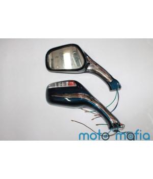Зеркала с поворотами (синие/красные/черные/серые)