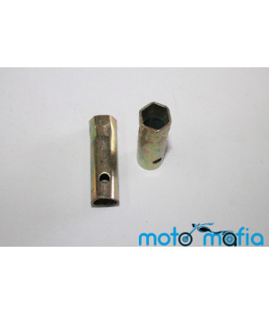 Ключ свечной мото 2-х тактный 21мм