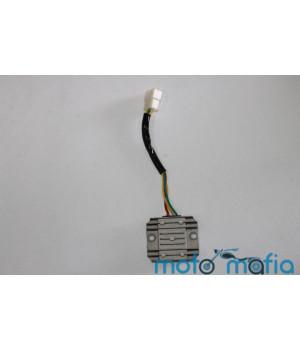Реле зарядки 4 провода на Вайпер / GY6-125/150