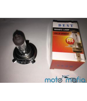 """Лампа фары Н4 12V 18/18W """"BEST"""" (автоцоколь)"""