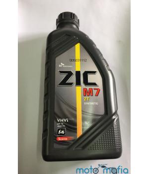 Масло ZIC M7  2Т синтетика