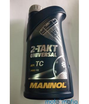 Масло Mannol Universal 2Т минеральное