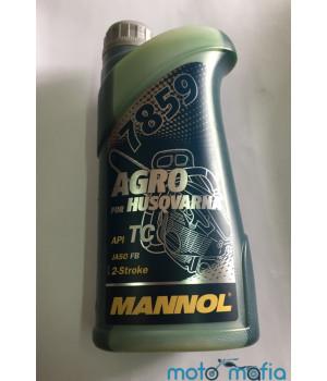 Масло Mannol Agro Husqvarna 2Т для бензопил