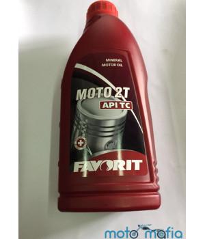 Масло Favorit 2Т 1 литр минеральное