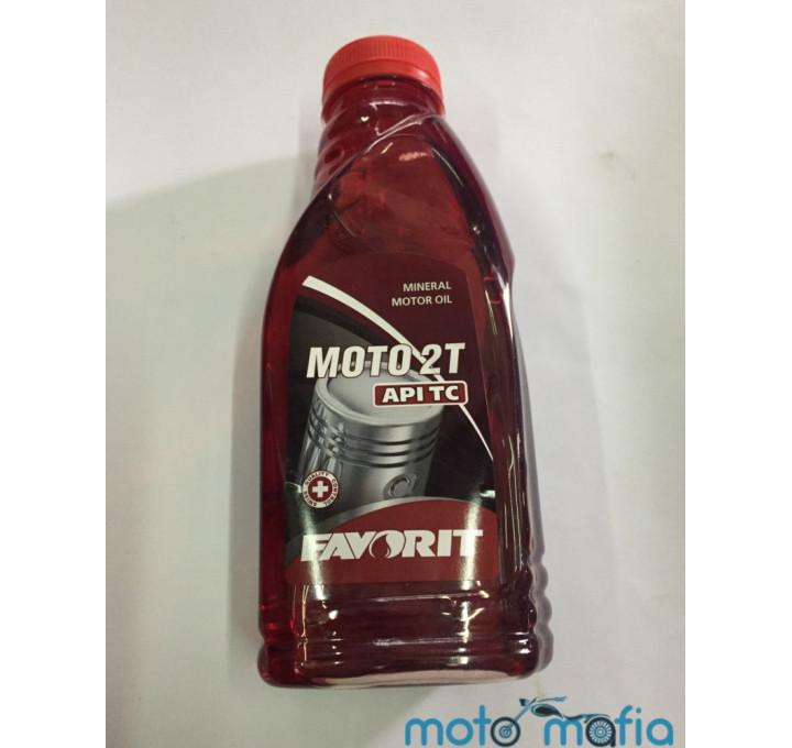 купить Масло Favorit 2Т 0,5 литра минеральное