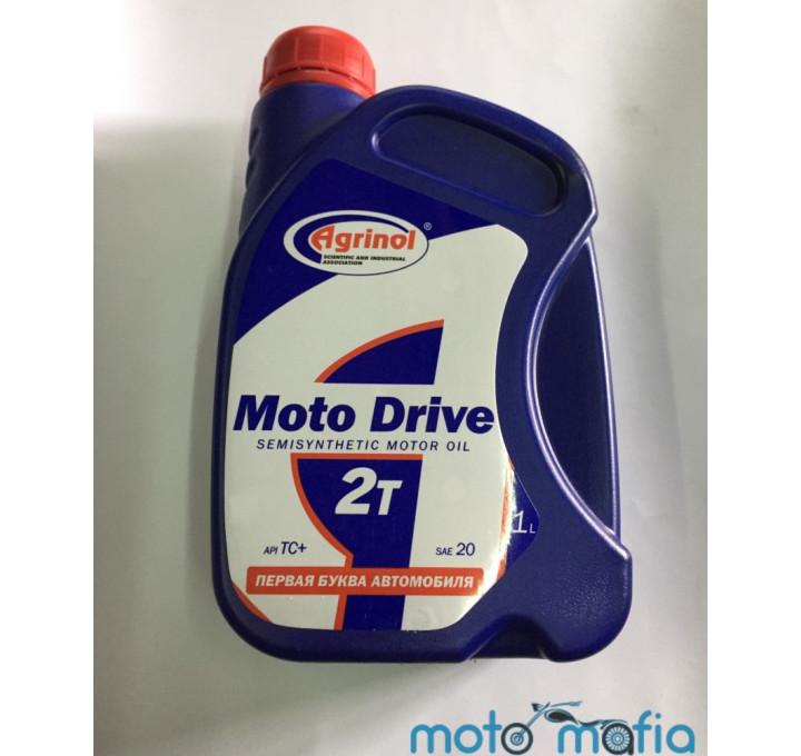 купить Масло Agrinol Moto Drive 2Т полусинтетика