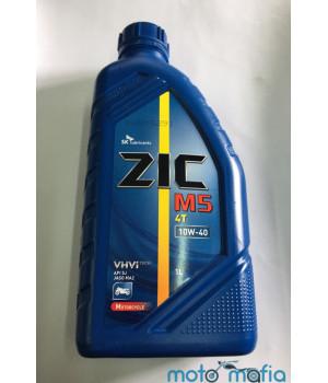 Масло ZIC M5 10W-40 4T полусинтетика