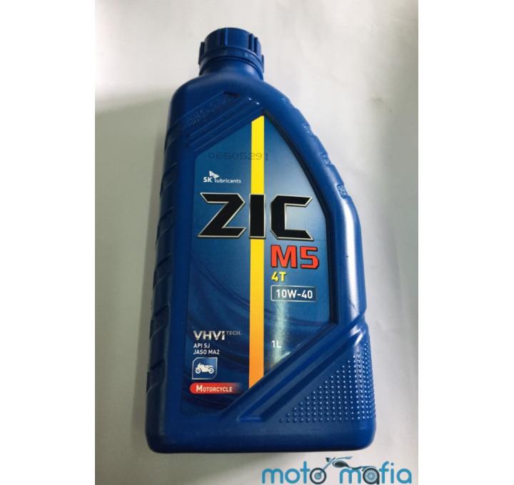 купить Масло ZIC M5 10W-40 4T полусинтетика