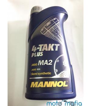 Масло Mannol Plus 10W-40 4Т полусинтетика