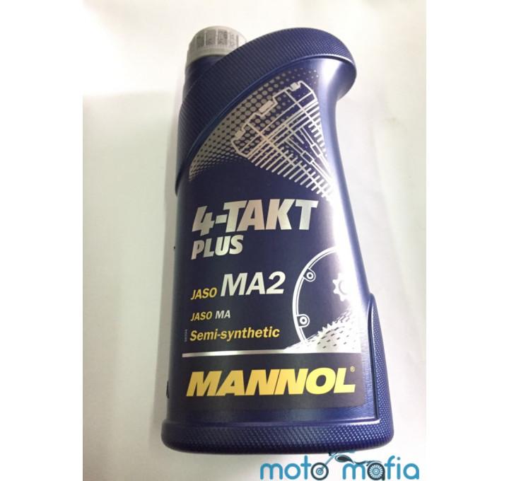 купить Масло Mannol Plus 10W-40 4Т полусинтетика