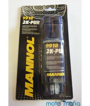 Двухкомпонентный полиуретановый материал для ремонта пластика Mannol