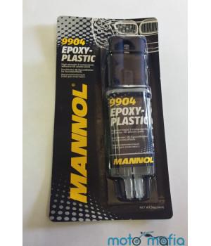 Двухкомпонентный клей для пластика Mannol