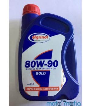 Масло трансмиссионное Agrinol 80W-90 Gold GL-5