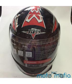 Шлем с бородой BLD (черный)