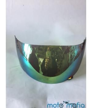 Стекло шлема тонированное (с трещеткой)