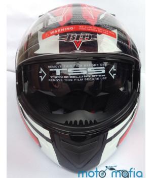 Шлем BLD трансформер (черно-красный)