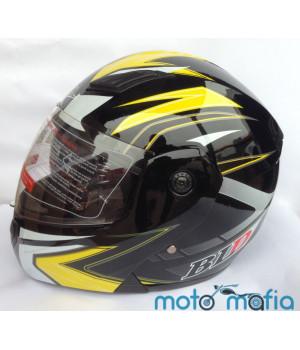 Шлем BLD трансформер (черно-желтый)