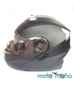 Шлем BLD трансформер (черный матовый)