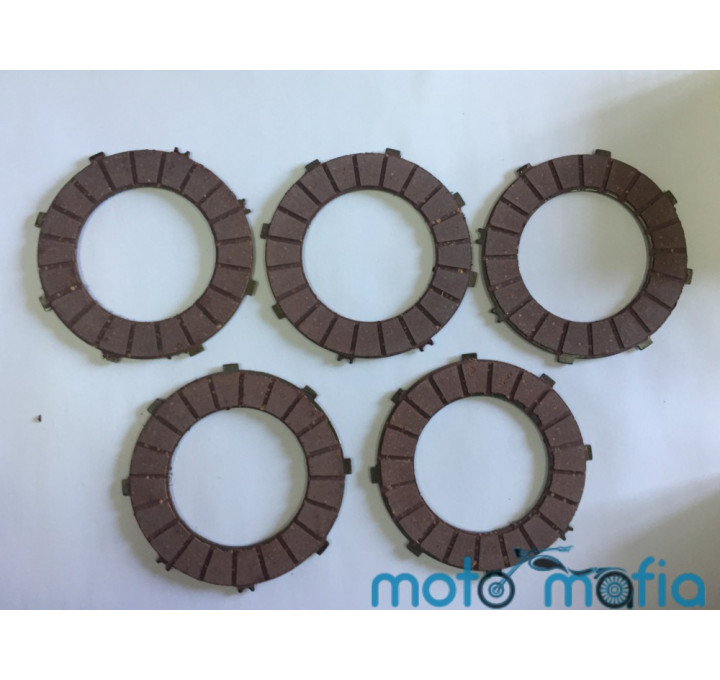 Диски сцепления Ява6V металло-корковые (комплект)