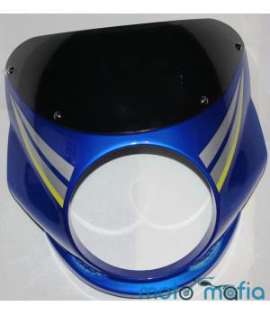 Обтекатель Ява под круглую фару (синий)